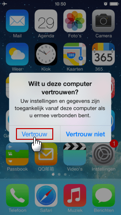 iPhone Vertrouw